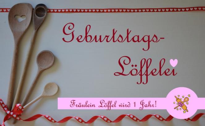 Bildergebnis für fräulein löffel geburtstagslöffelei banner