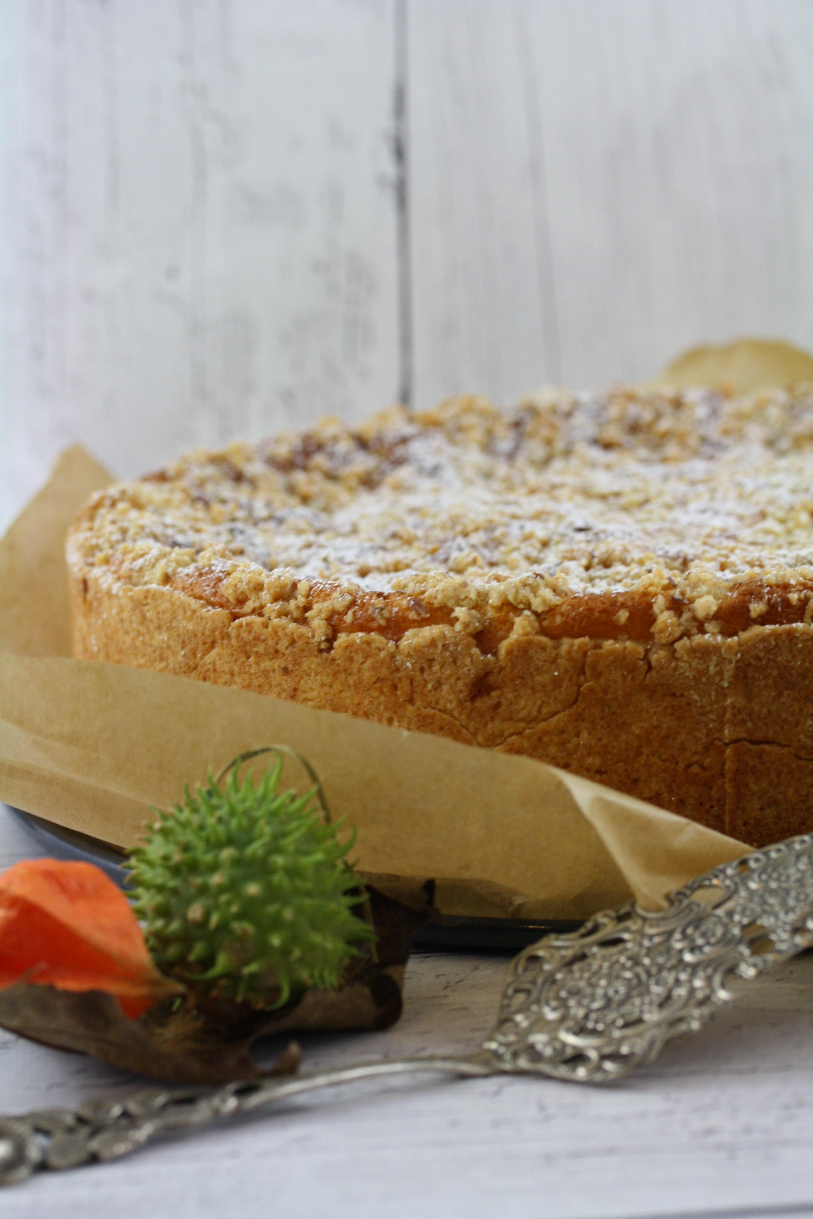 Apfelschmandkuchen Mit Streuseln 3 Fraeuleinkuchenzauber